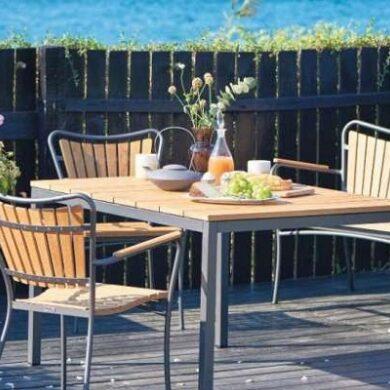 Sådan gør du havemøblerne klar til forår og udeliv