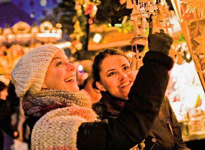 Nordtyskland har kendt for de mange hyggelige julemarkeder.