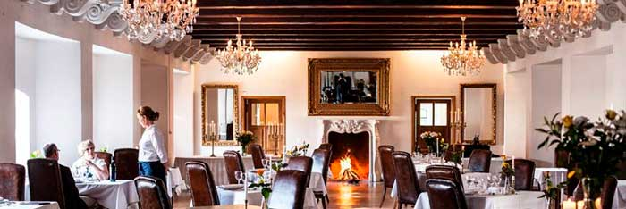 Skrøbelev Gods danner den perfekte ramme for et romantisk gourmetophold.