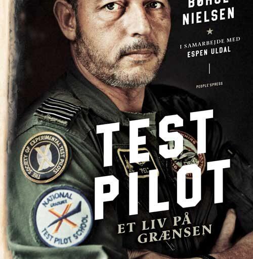 En fantastiske historie om en testpilot og jagerpiloten Casper Børge Nielsen.