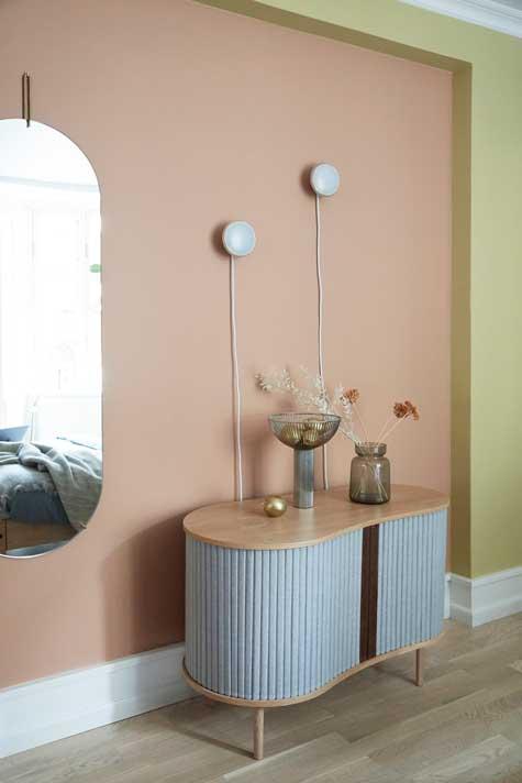Forårs-makeover til boligen med nye farver