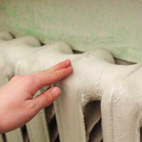 Mal den gamle radiator