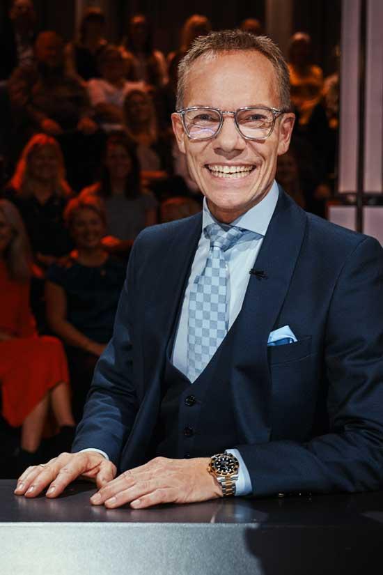 Jens Werner som dommer i Vild med dans