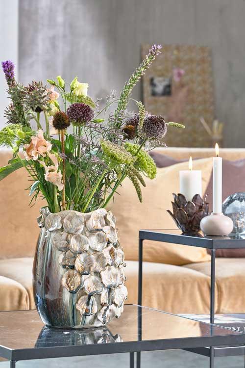 Udtryksfuld vase Valencia fra Villa Collection
