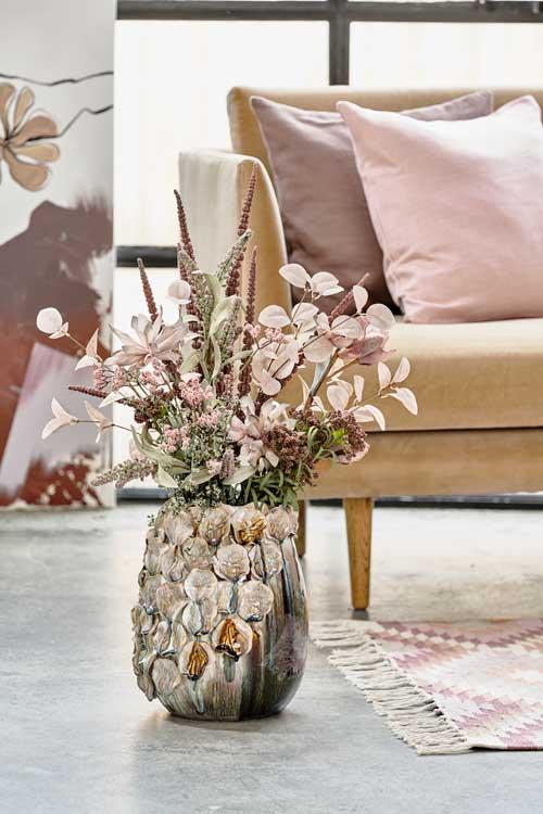 "Udtryksfuld vase fra Villa Collection - ""Valencia"""