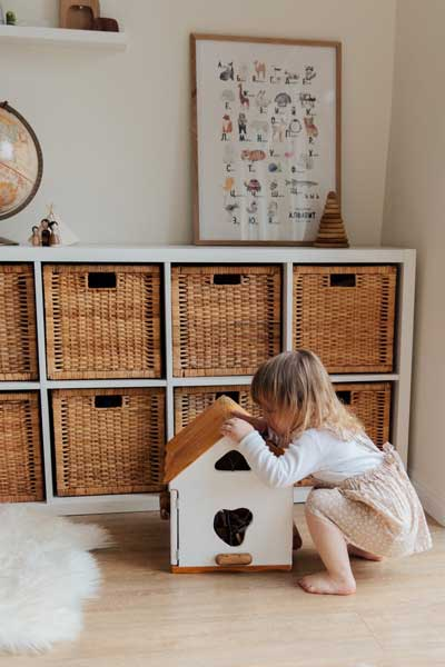 Du finder inspiration til børneværelset på luxkidz.dk