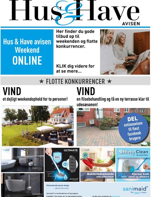 Hus & Have avisen weekend