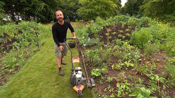 Søren Vester i haven