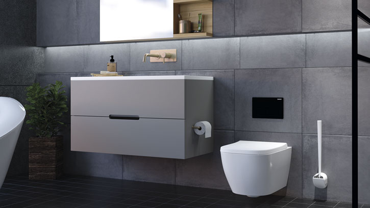 Nu er det slut med uhygiejniske toiletbørster. Sanimaid har redesignet den klassiske toiletbørste og kombineret god hygiejne med flot design.